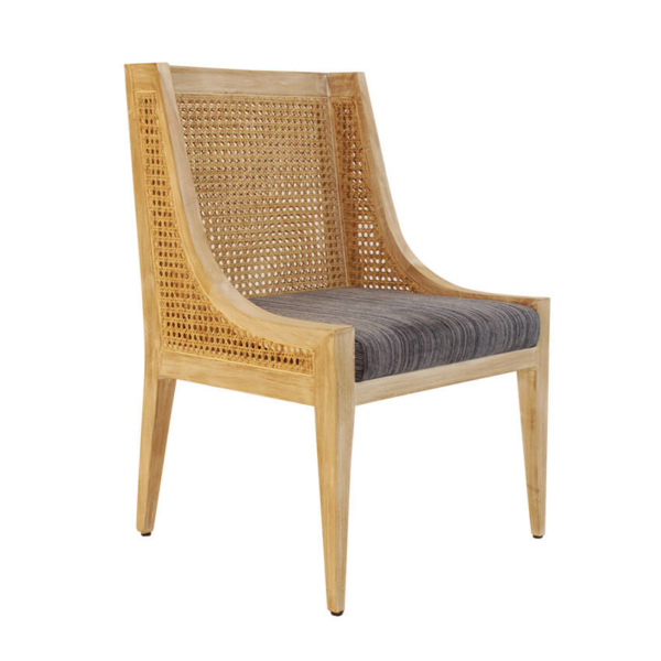 Cane Wing Dining Chair