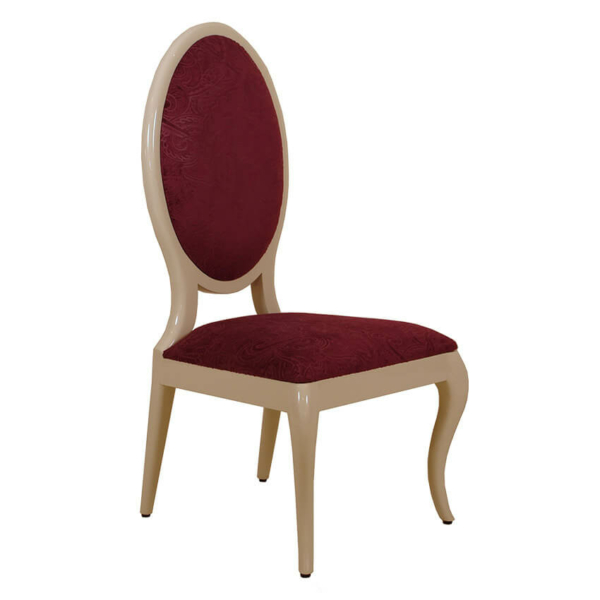 Pu Oval Dining Chair
