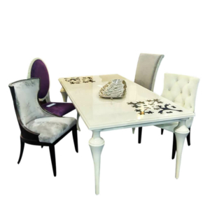 Ethnic Cutout Dining Table