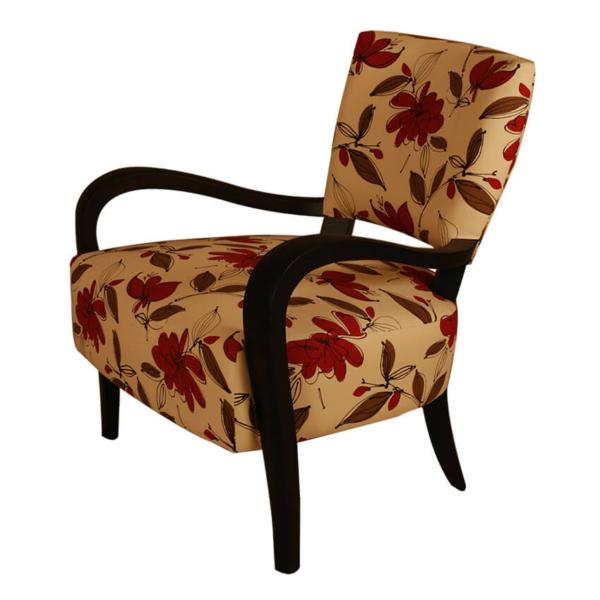 Long Horn Lounge Chair