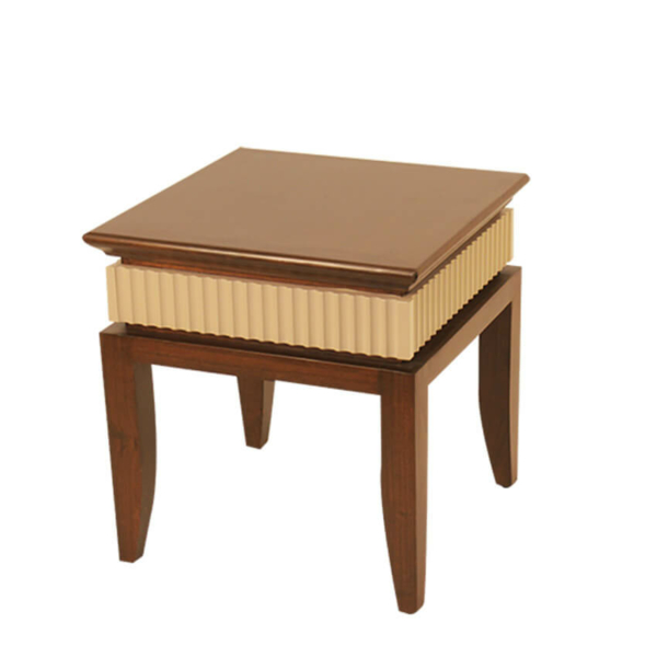 Scallop Tray Side Table